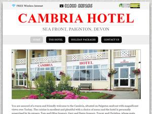 Cambria Hotel, Paignton