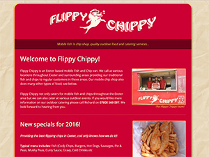 Flippy Chippy, mobile fish n chips, Exeter
