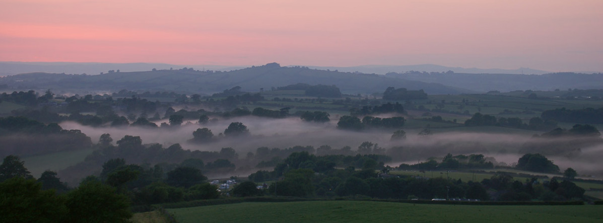 Mist in the Dart Valley, 2008