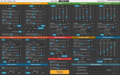 M1000 Matrix 1000 Editor